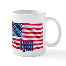 Lynn American Flag Gift Mug