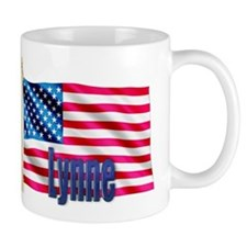 Lynne American Flag Gift Mug