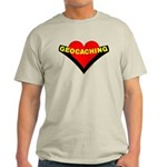 Geocaching Heart Light T-Shirt