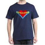 Geocaching Heart Dark T-Shirt