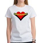 Geocaching Heart Women's T-Shirt