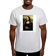 Mona Lisa Ash Grey T-Shirt