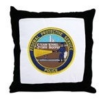 FPS Police Throw Pillow