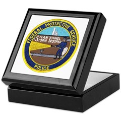 FPS Police Keepsake Box