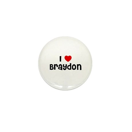 I * Braydon Mini Button