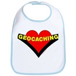 Geocaching Heart Bib