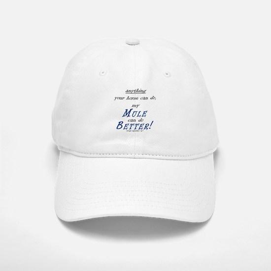 The Better Mule Cap