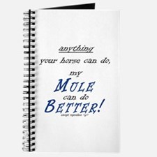 The Better Mule Journal
