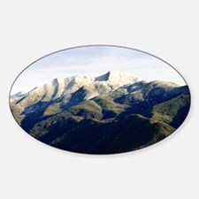 Ojai Valley With Snow Decal