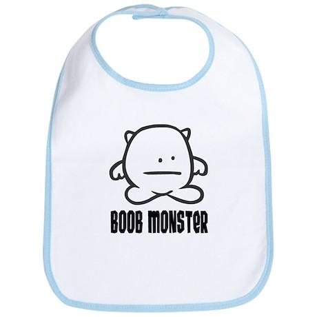 Boob Monster Bib