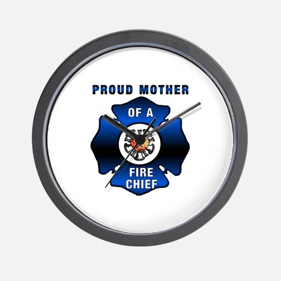 Fire Chiefs Mother Wall Clock