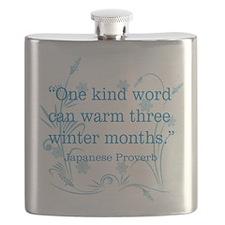One Kind Word Flask