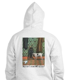 Dog Blamed Men's Hoodie