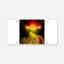 UFO Aluminum License Plate