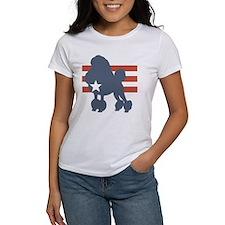 Patriotic Poodle Tee