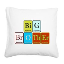 Big Brother Square Canvas Pillow