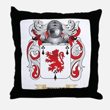 Dwyer Coat of Arms Throw Pillow