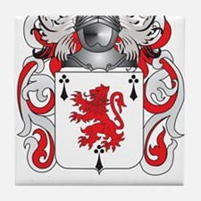 Dwyer Coat of Arms Tile Coaster