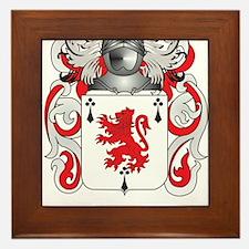 Dwyer Coat of Arms Framed Tile