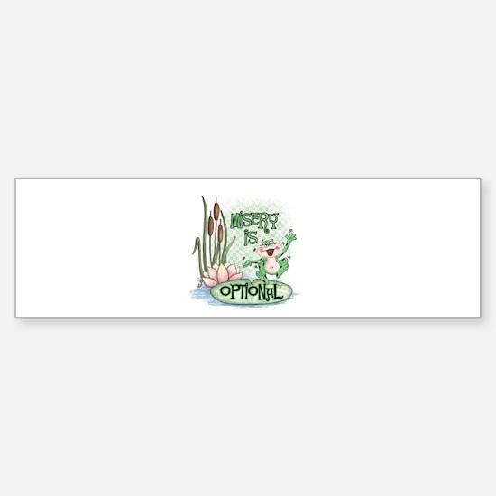 Froggie Bumper Bumper Bumper Sticker