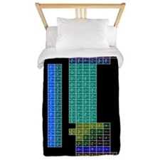 Periodic Table of Elements Twin Duvet