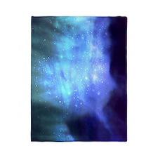 Blue Space Stars Twin Duvet