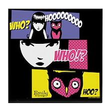 Who Hoo Tile Coaster