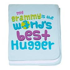 Grammy World's best Hugger baby blanket