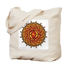 Celtic Knotwork Sun Tote Bag