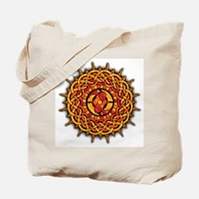 Celtic Knotwork Sun Tote Bag
