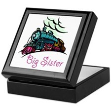 Big Sister Rolling Train Keepsake Box