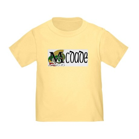 McDade Celtic Dragon Toddler T-Shirt
