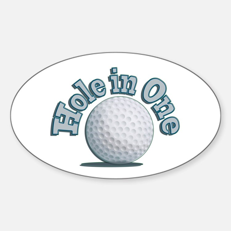 Hole in One (txt) Decal