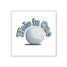 Hole in One (txt) Sticker