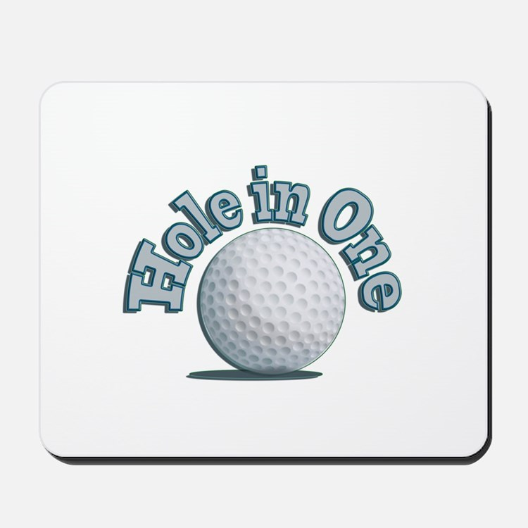 Hole in One (txt) Mousepad