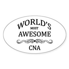 World's Most Awesome CNA Decal
