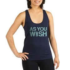 Princess Bride As You Wish Racerback Tank Top
