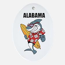 Alabama Ornament (Oval)