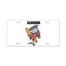 Alabama Aluminum License Plate
