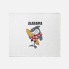 Alabama Throw Blanket