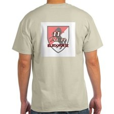 11th ACR Cavalry Ash Grey T-Shirt