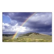 Rainbow Landscape Decal