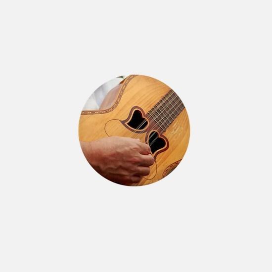 Typical Azores guitar Mini Button