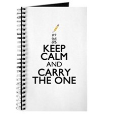 Keep Calm Math Journal