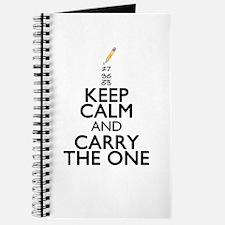 Keep Calm Math Journal