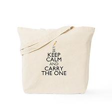 Keep Calm Math Tote Bag