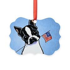 Boston Flag Ornament