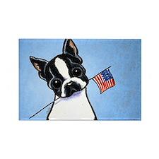 Boston Flag Rectangle Magnet (100 pack)