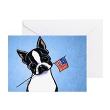 Boston Flag Greeting Cards (Pk of 10)