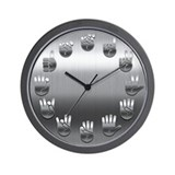 Sign language Wall Clocks